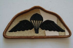 British Army Desert Parachute Qualification Wings/Badge - New
