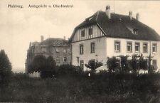 18042/ Foto AK, Pfalzburg Lothringen, Oberförsterei, ca. 1910