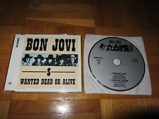 BON JOVI Wanted Dead Or Alive 1988 W. GERMANY CD single PLAYS KOOL AND THE GANG