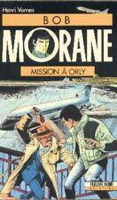 BOB MORANE Fleuve Noir 16 Mission à Orly Henri VERNES livre roman libro books