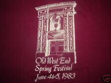 OLD WEST END FESTIVAL T-SHIRT Toledo Ohio 80's 1983 MED
