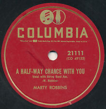 78 12BB - HILLBILLY - COLUMBIA 21111 - MARTY ROBBINS