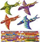 Dinosaur Foam Glider Planes Children's Party Bag Filler Loot 50 Gliders