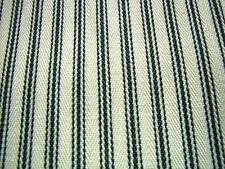 Extraancho Tapicería A rayas Tejido Negro Crema Raya 210cm x 5m