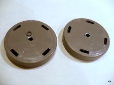 2 Sentria II Kirby Rear Wheels fit G3-G10 556212  w/Clip