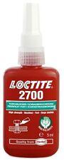 Loctite Cerradura De Rosca Alta Potenciada 5ml [1370589] Loc 2700 loc270