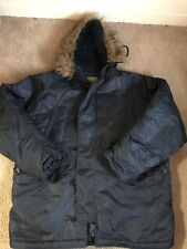 Knox Armory Extreme Cold Weather Parka Coat Fur Hood 4XL Military Issued N3-B