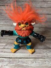 1992 Hasbro Battle Trolls Trollaf Trollminator Vintage Incomplete  (D-1)