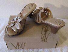 NIB BOC Lynley Womens Open Toe Sandals 10 Champagne MSRP$85