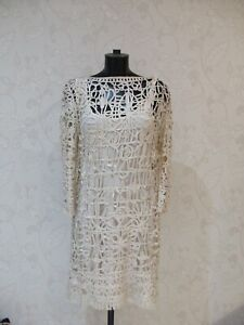 Phase Eight tapework lace dress - size 16