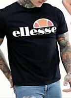 Ellesse Classic MEN's Short Sleeve Crew Neck Cotton T-Shirt Summer Collection