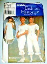 Civil War Fashion Historian LARP Cosplay Undergarments Costume Sewing Pattern