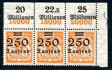DANZIG 1923 160 ORSTREIFEN ** POSTFRISCH (A8158