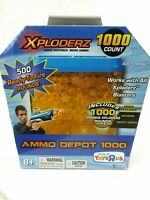 Xploderz Ammo 1000 ct Ammo Depot 1000 Works w/ All Blasters