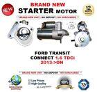para FORD TRANSIT con 1.6 TDCi 2013-on > NUEVO Motor De Arranque 1.2kw 11teeth