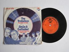 "The Tremeloes - Here comes my baby / Simon Garfunkel - 7"" 45 rpm vinyl record"