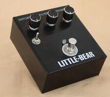 Little Bear Guitar Bass Distortion TURBO Effector effect StompBox Pedal LM308AN