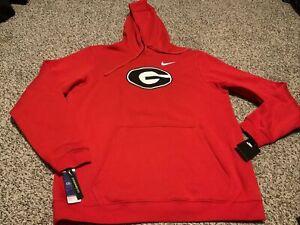 Nike Georgia Bulldogs NCAA Football Sweatshirt Hoodie 2020 Men's Size: XL NWT
