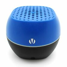 NEW Vivitar Voltage Bluetooth Speaker Wireless V1322BT 3.5 Aux Rechargeable Blue