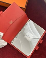 Auth. Louise Vuitton HERMES box vision agenda with insert