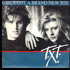 GIRL'S GOT A BRAND NEW TOY - HOT WAS THE RAINY NIGHT # T.X.T.