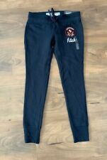 NEW ABERCROMBIE KIDS Girls Sweatpants Size SMALL Drawstring SUPER Skinny Pants