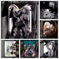 Black Butler Undertaker Anime Wall Art Poster Scroll Home Decoration