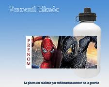 Gourde enfant Spiderman personnalisée avec prénom