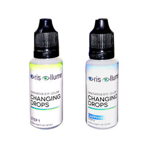 Iris Illume Innovative Eye Color Changing Drops in Sapphire: Now Under New MGMT