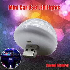 Accessories Car Atmosphere Light 1pc USB Socket LED Colorful 3W 5V White