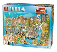 1000 Piece Comic Collection Jigsaw Puzzle - Kings Day Amsterdam 05132