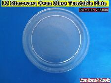LG Microwave Oven Glass Turntable Plate Platter 245mm Suits Many Brand (W8) NEW