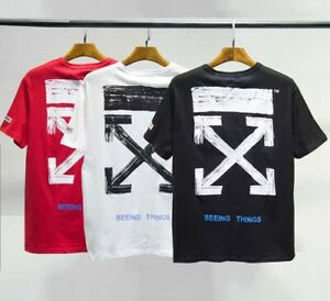 OFF WHITE Tshirts regular fit 3 colors premium quality with bag fast delivery