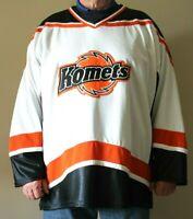 Fort Wayne Komets ECHL Hockey Jersey by Athletic Knit, Size 2XL