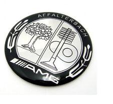 Metal steering wheel Emblem Badge Logo Sticker AFFALTERBACH 52mm Amg Decal u&23