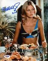 Britt Ekland James Bond Psa Dna Coa Hand Signed 8x10 Photo Autograph Authentic