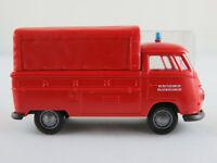 """Brekina VW-Pritschenwagen T1 (1961) """"Werkfeuerwehr Volkswagen"""" 1:87/H0 NEU/OVP"""