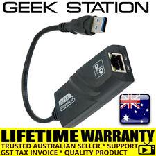 USB 3.0 to Gigabit RJ45 Ethernet LAN network Adapter 1000Mbps PC Laptop MacBook