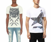 DIESEL T-JOE-DC A MN Mens T-Shirt Short Sleeve Crew Neck Casual Tees Cotton Tee