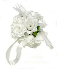 Flower Balls ~ White ~ Kissing Ball Pomander Wedding Flowers Centerpieces Party
