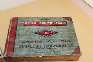 1915-1916 Vintage Shapleigh Tools/Hardware Catalog-1796 pages