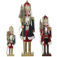Wooden Christmas Nutcracker Soldier Xmas Party Decorative Ornament Nut Cracker
