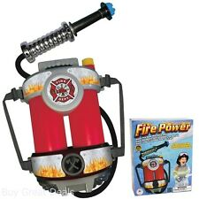Water Guns Fireman Role Hose Gear Super Power Splash Soaking Toys Kids Backpacks