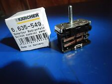 OEM New Karcher Switch Panel 6.635-549.0 66355490