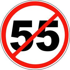 STICKER ATTITUDE NO 55