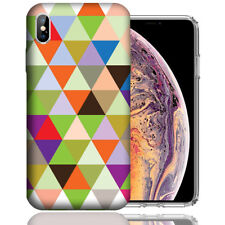 MUNDAZE Apple iPhone XR Design Case - Colorful Checkered Cover