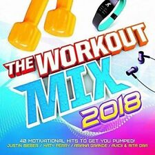Various - The Workout Mix 2018 - 2xCD - Brand NEW and SEALED