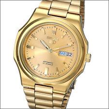 Seiko 5 Goldtone Automatic Watch with Goldtone Bracelet, and Dial #SNKK52