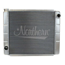 Northern 209671 Ford Mopar Style Welded Aluminum 2-Row Radiator 26 x 19 Race Pro
