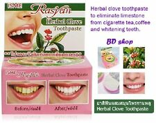 24 X 25g Rasyan Isme Herbal Clove Toothpaste Tooth Paste Anti Bacteria Bad Decay